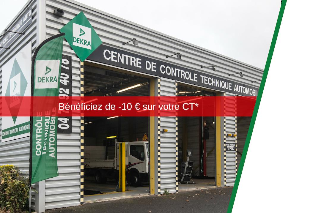 centre de controle technique Dekra Clermont Ferrand