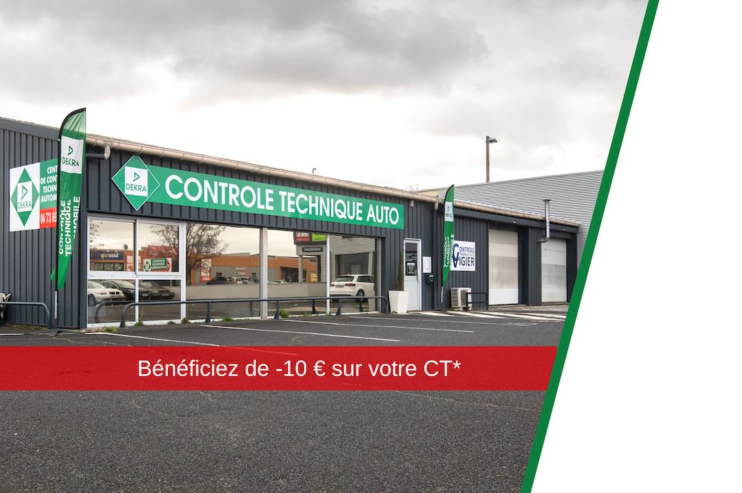 centre de controle technique Dekra Cournon-d'Auvergne