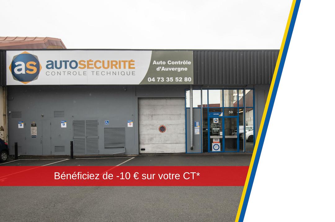 Centre contrôle technique autosécurité Clermont Ferrand