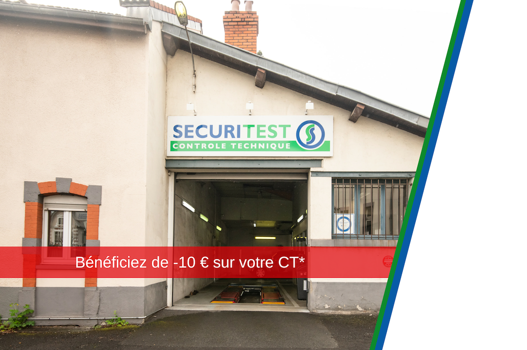 centre de controle technique securitest Chamalières